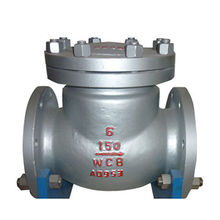 Swing Check Valve ASTM A216 WCB Grade Class 150 ANSI B16.34 Flange Standard and API 600