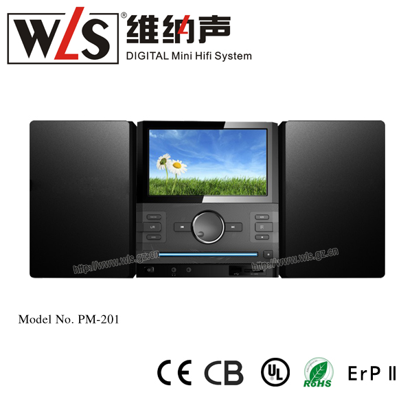 Micro DVD Combo 7' TFT SCREEN portable dvd player with tv tuner usb cd vcd fm radio