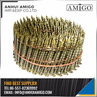 WOOD WIRE COIL NAILS FOR PALLET MAKING