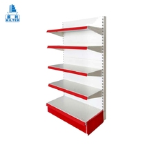 Support display used shopping gondola supermarket shelf metal