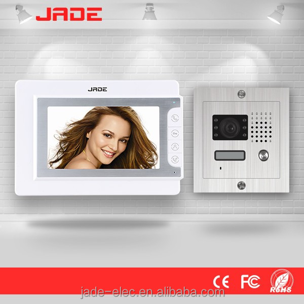 Hot New 7 inch Wired Color Video Door Phone / Door Bell / Intercom System