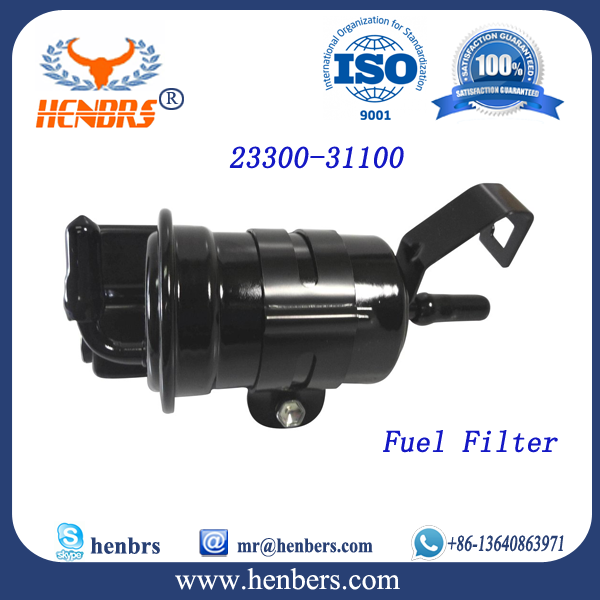 Auto Engine Lubrication System oem 23300-31100 fuel filter cx0708 for toyota fuel filter