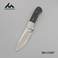 Wooden handle russian hunting knife