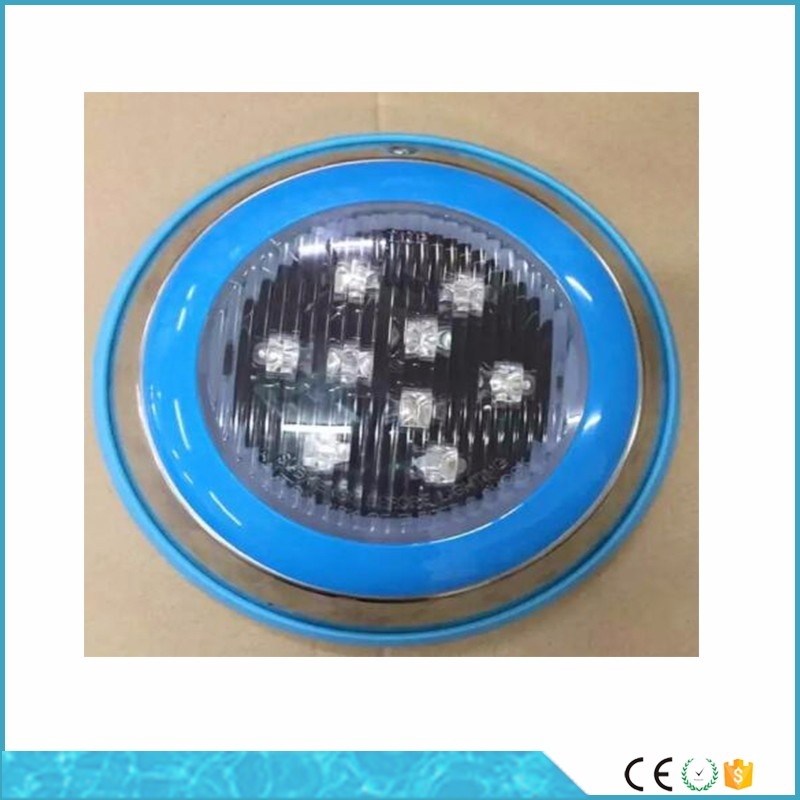 Guangzhou manufacturer stainless steel waterfall swimming pool led underwater light