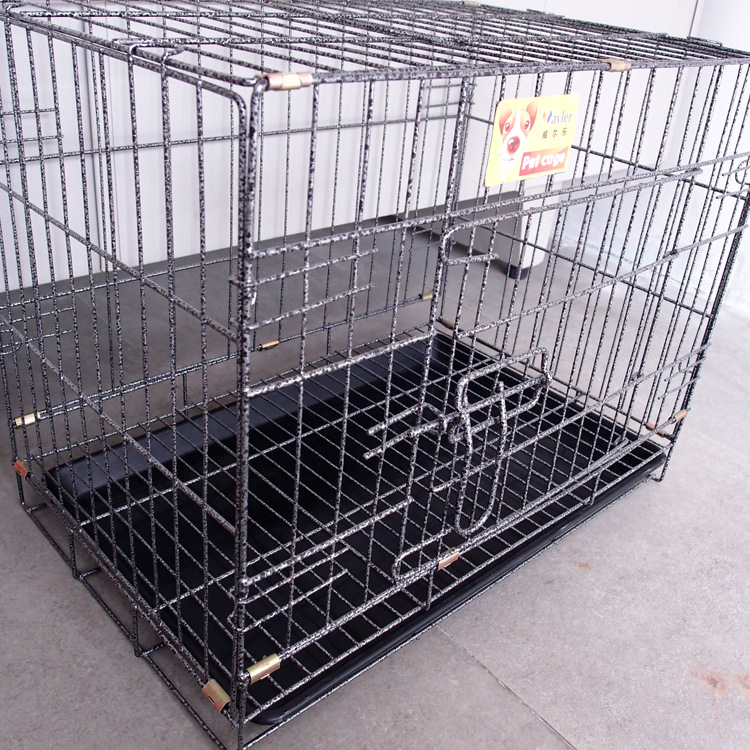 2016 New Design Fashion Dog Crate Foldable Iron Dog Cage