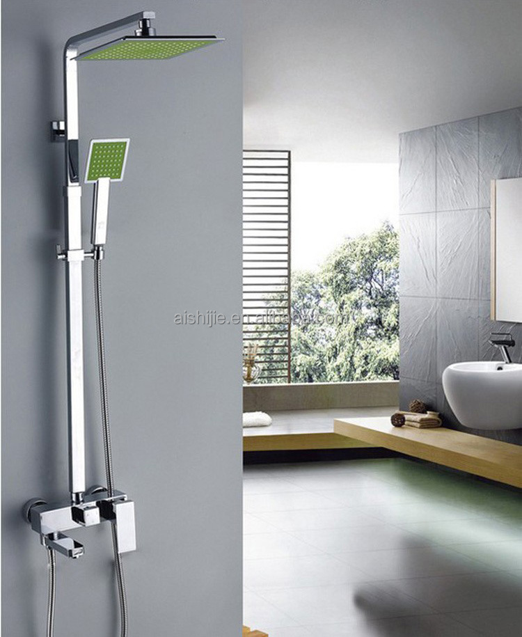 203 Design Door Shipping From China Luxury Wall Mounted Brass Bathroom Showers
