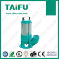 TAIFU brand AC 380V copper wire stainless steel body submersible dirty water pump for agriculture