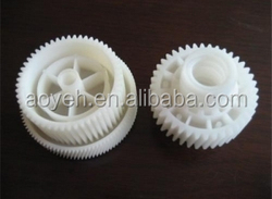 plastic double spur gear