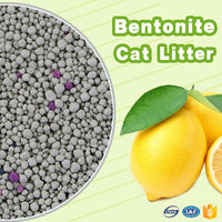 2016 new design pet shop eco-friendly bentonite cat litter
