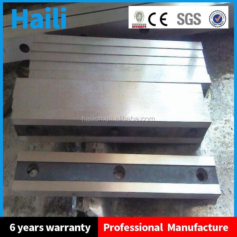 shearing machine blade steel bar cutting blade