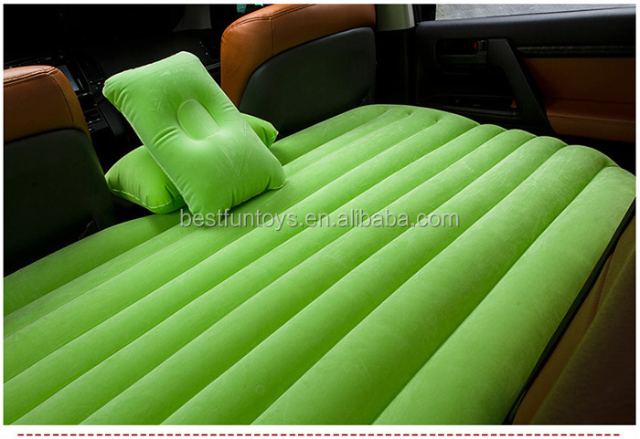 Inflatable Baby Portable Folding Car Bed Inflatable Fabric Air Bed