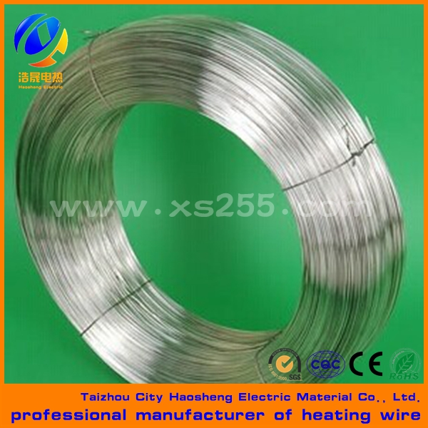 Nickel chrome bright annealing electric heating wire Cr20Ni80