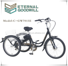 7015E CE electric adult tricycle cargobike / cargo bike bicycle / electric tricycle for handicapped
