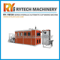 RY-YB 720 Hydraulic Plastic Cup thermoforming machine Plastic Tea K Cup Making Machine