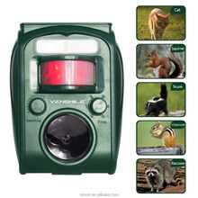 Vensmile Ultrasonic Solar Pest Repeller animal repellent For Birds/Dogs/ Cats/Mice/Squirrels/ Rabbits