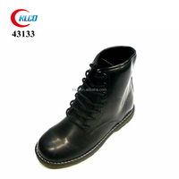 fashion classic ankle boot leather kid school shoe