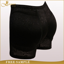 2016 Wholesale Hip Up Sexy Black Butt Lift Panties Slim Underwear 100% Cotton Hip Padded Push Up Panties For Women