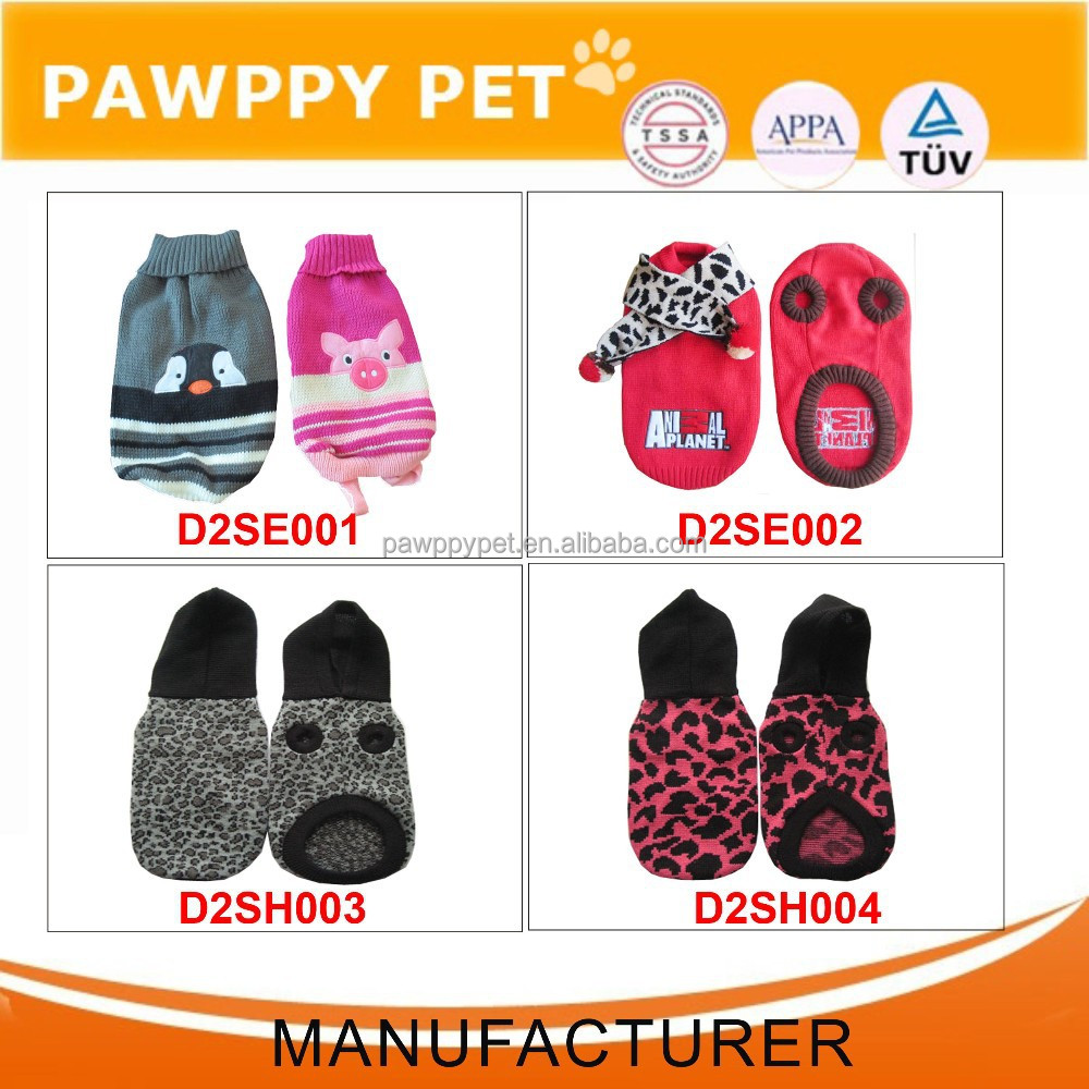 Custom Pet Clothes Knitted Dog Sweater