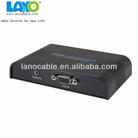 New Product 1080P VGA To coax HDMI Converter Box supports HDTV to PC