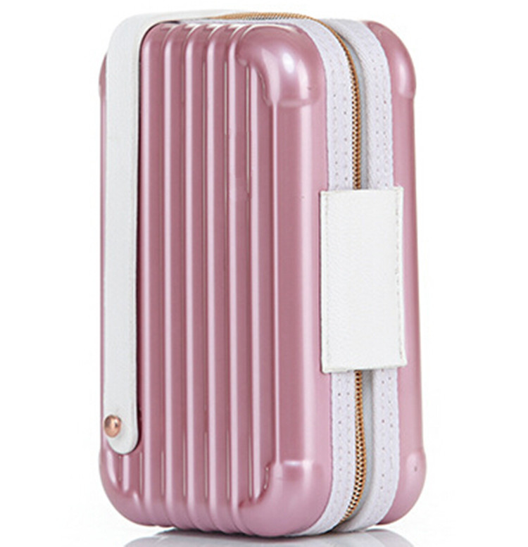Travel Train Case Portable Cosmetic Organizer Case Makeup Storage Toiletry Kit Wash Case Gift For Girl Outdoor Makeup Organizer