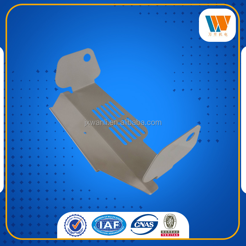 OEM high quality powder coated punched forming metal stamping parts
