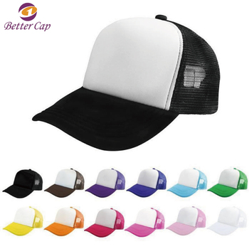 5 panel good quality cheap price wholesale mesh trucker cap