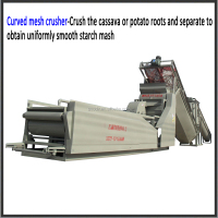 Small Scale cassava starch production line/tapioca flour processing machine/tapioca starch manufacturing machine