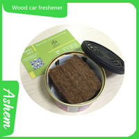New arrival customized wood freshener /gel car wood cans , IC-813