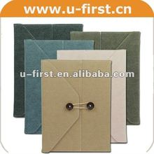 2013 new !!! file pocket high quality PU leather Case for ipad 2 3 4 in factory price,For Apple iPad leather case