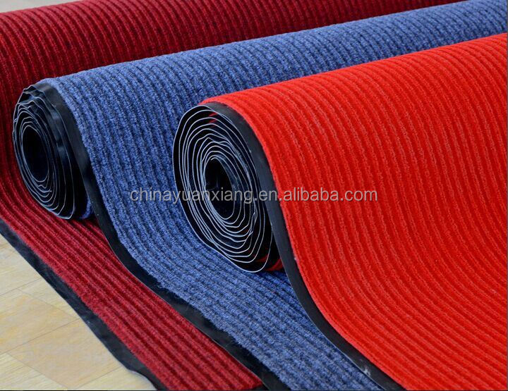 BSCI Commercial Carpet Outdoor Rubber Backed