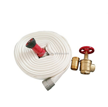 PVC meterial fire safety fire hose with landing valve