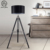 Wholesale Hotel Industrial Metal Floor Light Modern Led Standing Tripod Floor Lamp Shade For Living Room