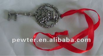 Christmas Metal Santa Claus Key for gift