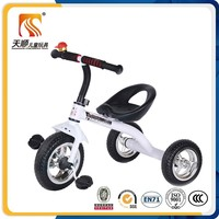 Factory supply EN71 metal kids tricycle cheap baby tricycle simple tricycle for children