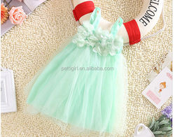 Hot Sale Girl Tutu Dress Colorful Baby Princess Dresses Fluffy Kids Clothing GD41211-16