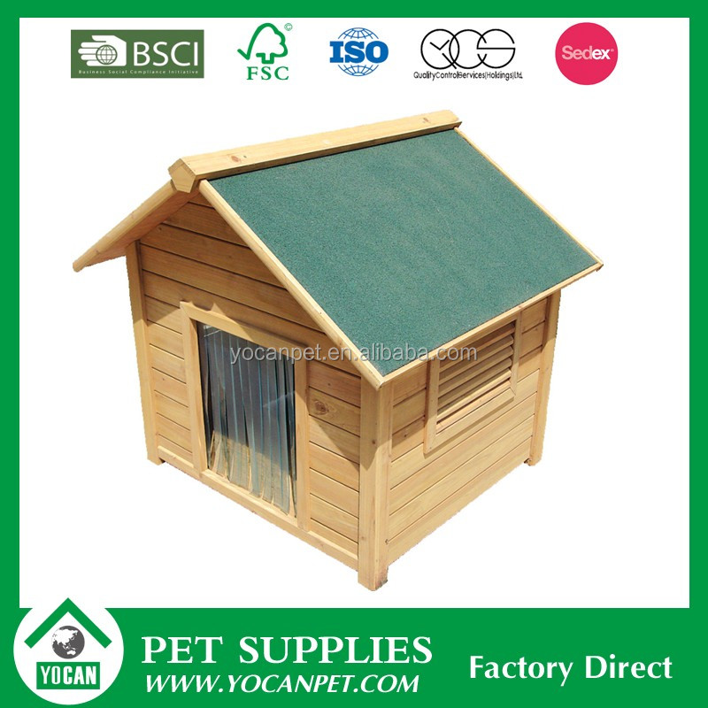 Fast supplier Crafts wooden dog house