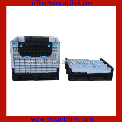 Heavy Duty Storage HDPE Warehouse Folding Plastic Pallet Bin