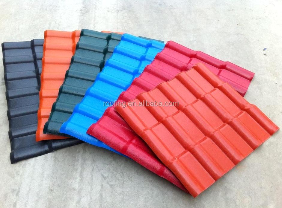 2.5mm/3.0mm best price of pvc plastic roof tile in 25 years warranty