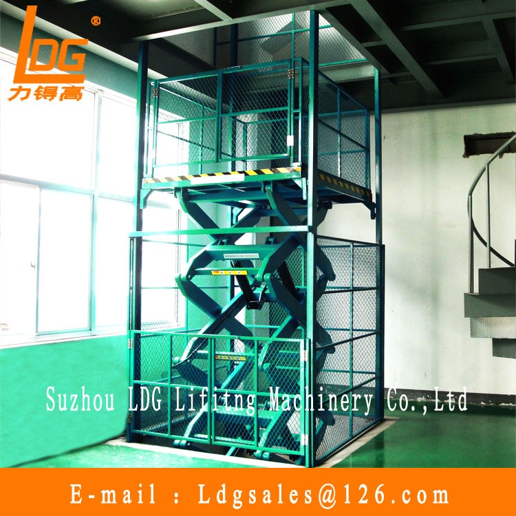 Hydraulic scissor car wash equipment with SJG series
