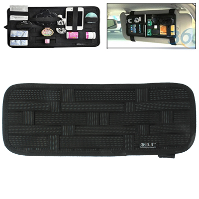 In stock low price MuElastic Multi-functional Car interior money clip Sunvisor Car Storage Bag file clip moq 1 piece