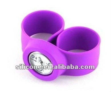 fashion silicone rubber wrist/ gift watch