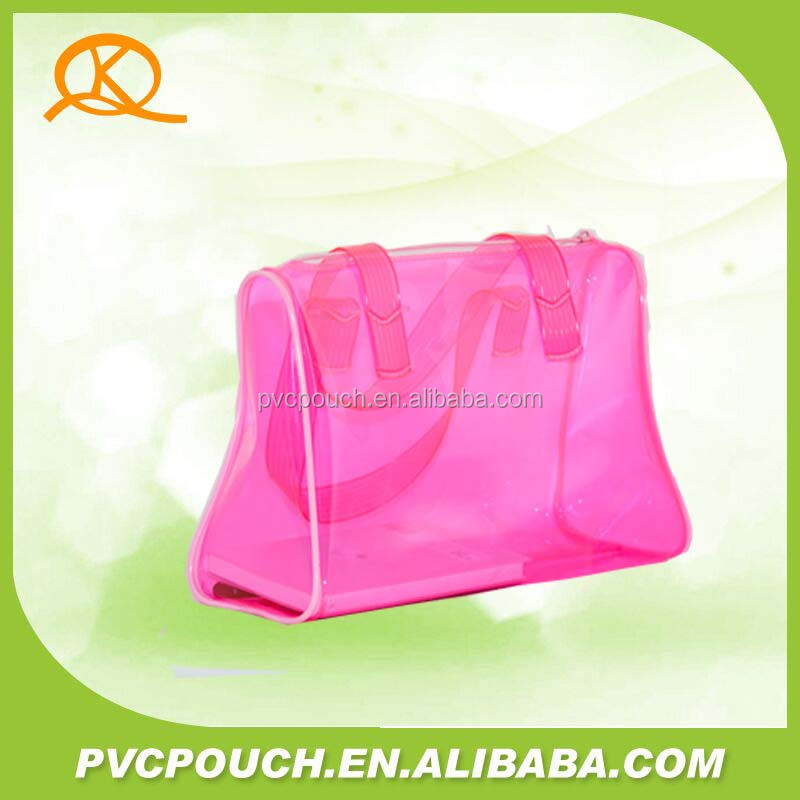 Bags imported from china plastic Bone glue holding shoulder tote bag