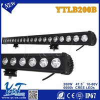 Y&T 2015 new hot product police emergency led light bar, most powerful led light bar 4WD auto parts LED light bar for TOYOTA