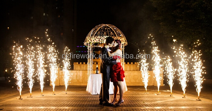 high quality silver fountains indoor wedding fireworks for wholesale
