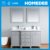 Homedee waterproof double sink modern vanity bathroom