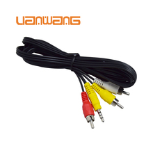 3.5mm 3rca to 3rca Audio Video Cable