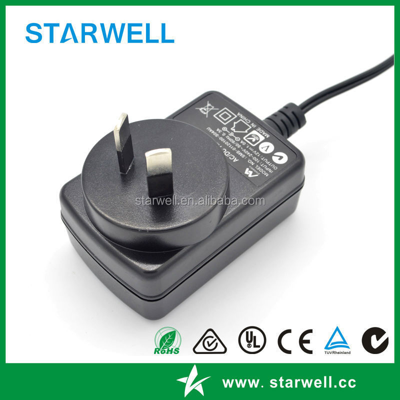 9v 2a wall charger 18w adapter Australia standard adapter