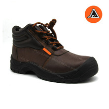 crazy horse leather anti impact safety boots S2 ITEM#JZY0504S2