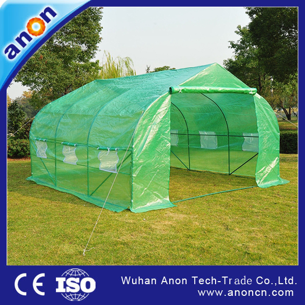 ANON MACZ PE garden tunnel greenhouse for sale and growing vegetables