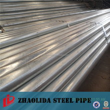 Steel Structure Building / Furniture Materials Galvanized Steel Pipe BS1387